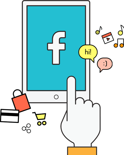 Social media marketing promotion platform | facebook