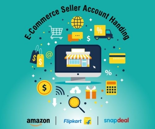 E-commerce seller account handling